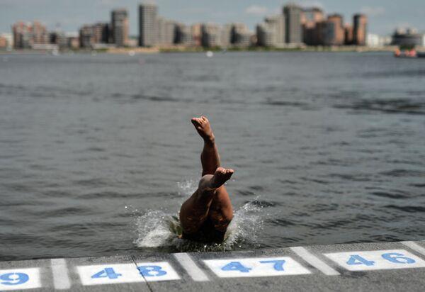 Чемпионат мира FINA 2015. Плавание на открытой воде. Женщины. 10 км