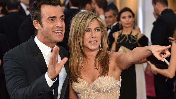 Дженнифер Энистон и Джастин Теру на 87-ой церемонии вручения премии Оскар