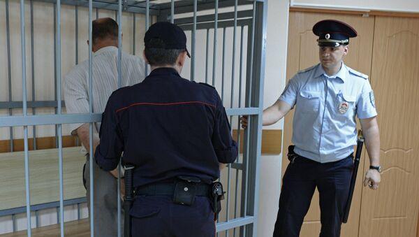 Арест водителя одного из столкнувшихся автобусов в Хабаровском крае. Архивное фото