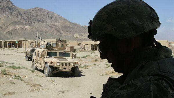 Американские солдаты к северу от Кабула, Афганистан. Сентябрь 2007. Архивное фото