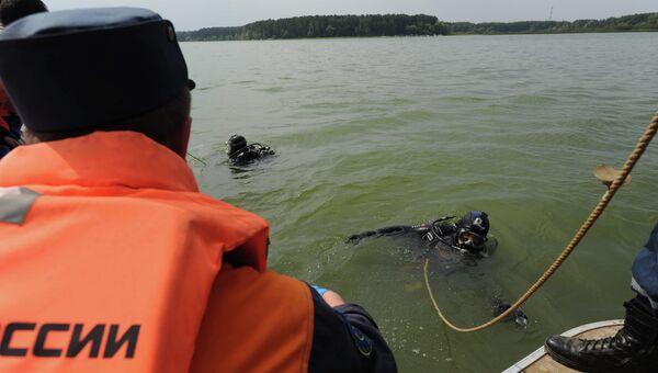 Поисковые работы в акватории Истринского водохранилища