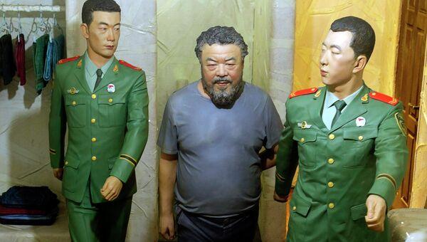 Инсталляция китайского художника Ай Вэйвэя на биеннале в Венеции