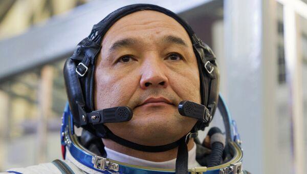 Участник основного экипажа МКС-45/46/ЭП-18 космонавт Республики Казахстан Айдын Аимбетов