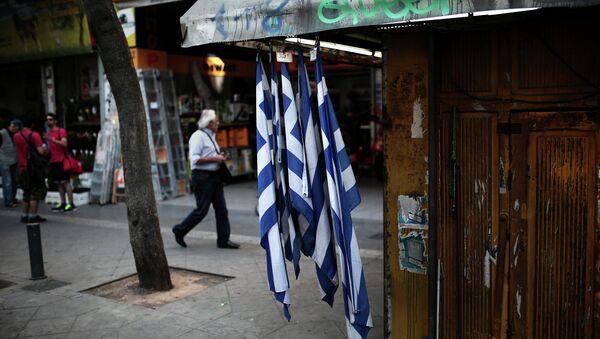 Ситуация в Афинах. Архивное фото