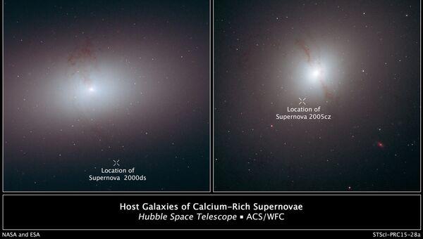 Черные дыры выбрасывают сверхновые из галактик