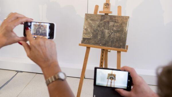 Картина Пабло Пикассо Парикмахерша