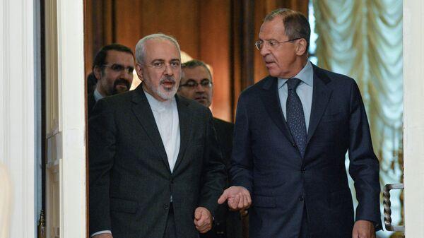 Переговоры глав МИД России и Ирана С.Лаврова и М.Зарифа