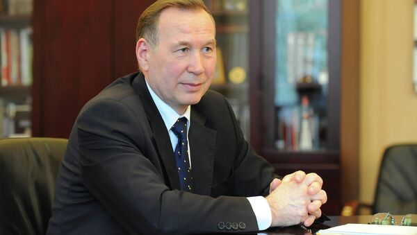 Генеральный директор РКЦ Прогресс Александр Кирилин. Архивное фото