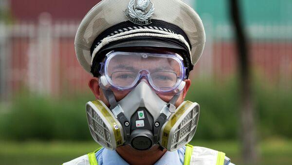 Полицейский в Китае