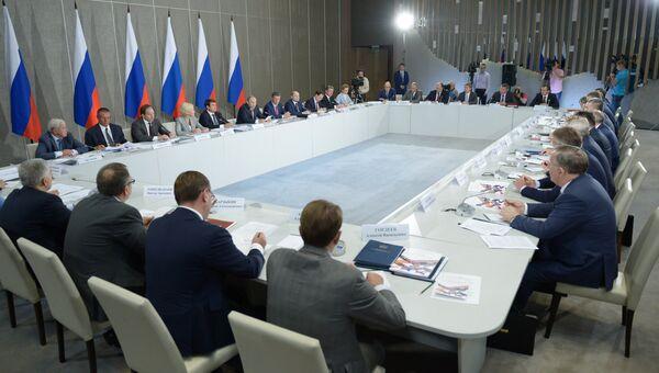 Заседание президиума Госсовета РФ в Крыму