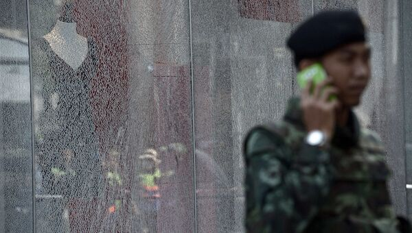 Полиция в Таиланде. архивное фото
