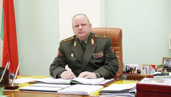 Заместитель министра обороны по вооружению - начальник вооружения Вооруженных сил Белоруссии генерал-майор Игорь Лотенков
