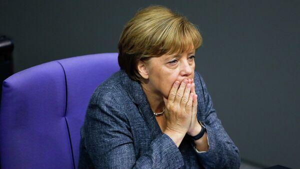 Канцлер Германии Ангела Меркель, архивное фото