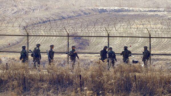 Южнокорейские военные. Архивное фото
