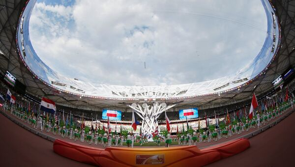 Легкая атлетика. Чемпионат мира 2015. Архивное фото