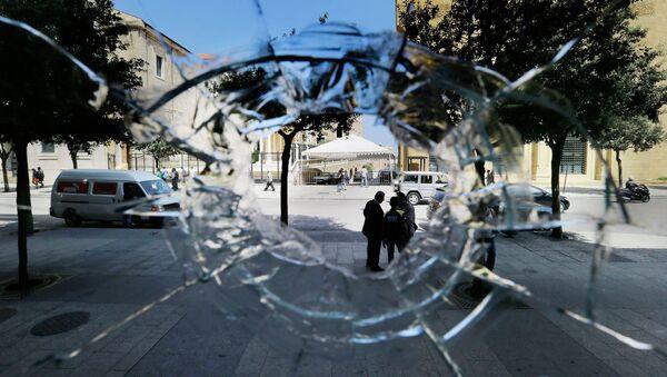 Ситуация в Бейруте, Ливан. Август 2015 года