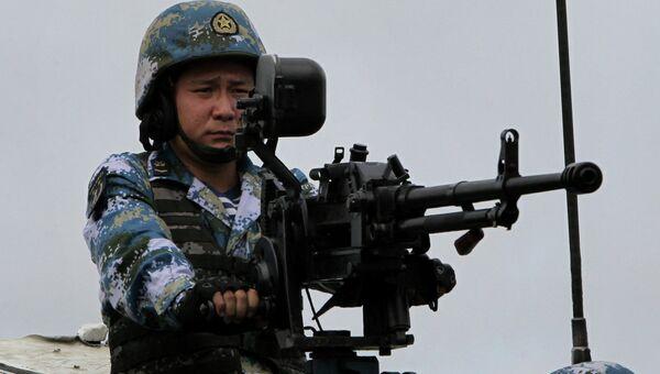 Китайский пехотинец. Архивное фото