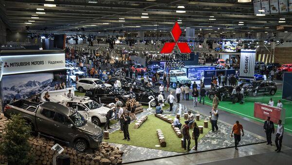11-я международная выставка автомобильной индустрии Интеравто и международная выставка внедорожников, кроссоверов и вездеходов Moscow Off-road Show. Архивное фото