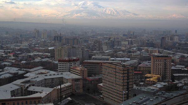 Вид Еревана. Архивное фото.