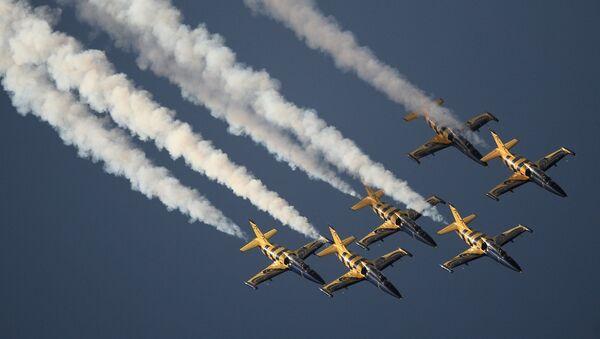 Самолеты L-39 Альбатрос. Архивное фото
