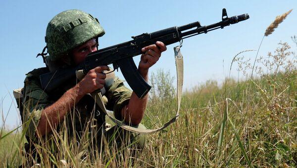 Учения десантников России, Сербии и Белоруссии в Краснодарском крае