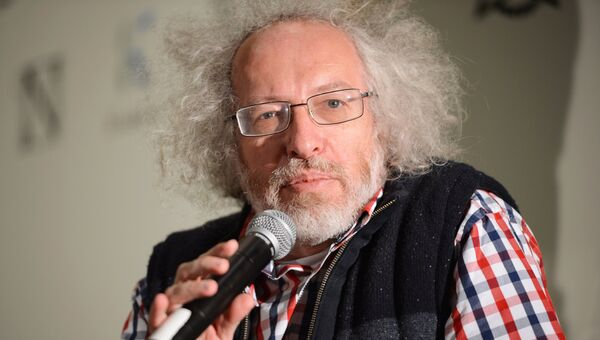 Главный редактор радиостанции Эхо Москвы Алексей Венедиктов. Архивное фото.