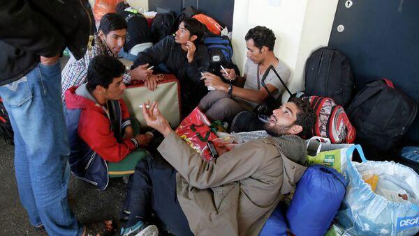 Беженцы из стран Ближнего Востока. Архивное фото