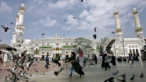 Мечеть аль-Харам в Мекке, Саудовская Аравия. Архивное фото