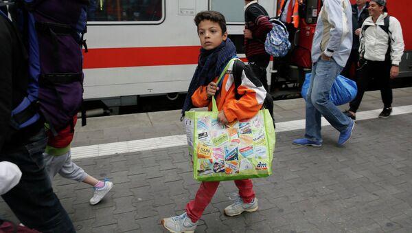 Беженцы с Ближнего Востока. Архивное фото