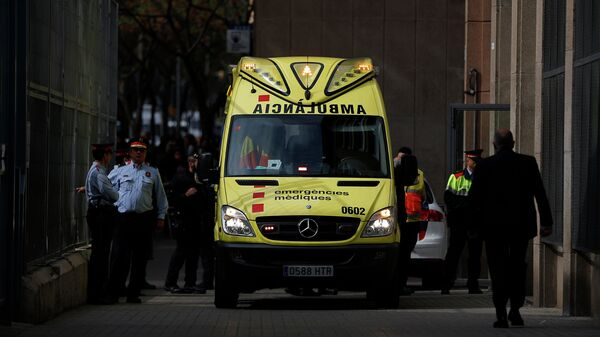 Машина скорой помощи в Испании. Архивное фото