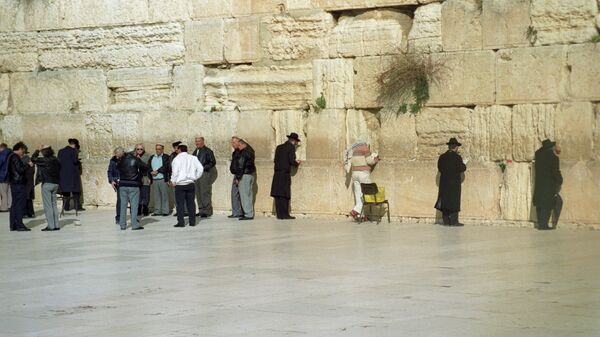 Стена плача в Иерусалиме