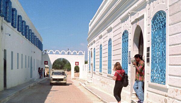 Синагога на острове Джерба в Тунисе