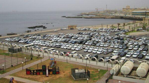 Вид города Триполи, Ливия