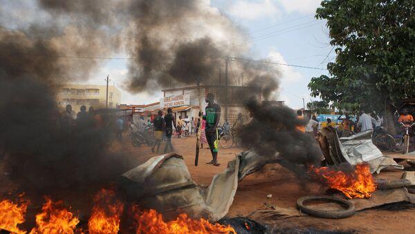Переворот в Буркина-Фасо, беспорядки на улицах. Архивное фото