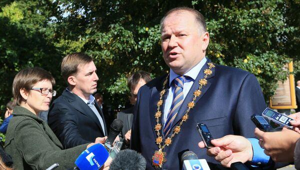 Губернатор Калининградской области Николай Цуканов после церемонии инаугурации. Архивное фото