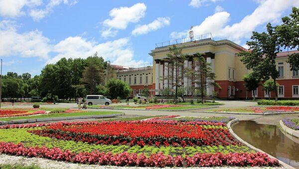 Дворец Культуры Угольщиков, город Артем, Приморский край. Архивное фото