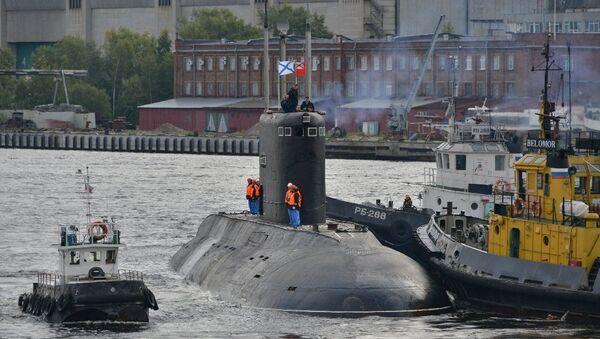 Подводная лодка Владикавказ. Архивное фото