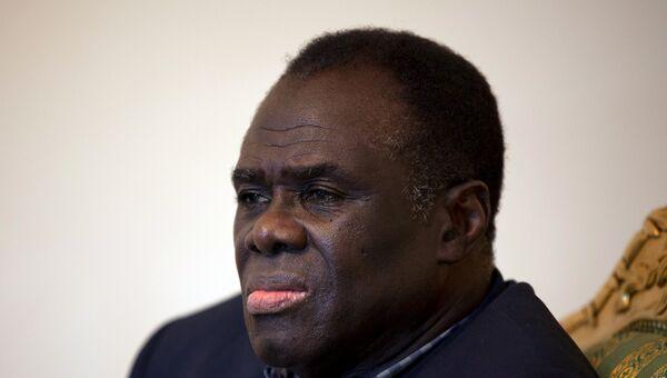 Временно исполняющий обязанности президента Буркина-Фасо Мишель Кафандо. Архивное фото