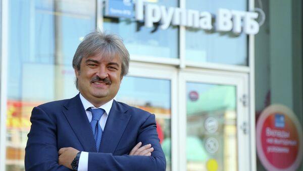 Председатель правления Лето-банка Дмитрий Руденко. Архивное фото
