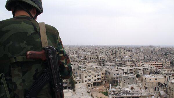 Военнослужащий сирийской армии. Архивное фото