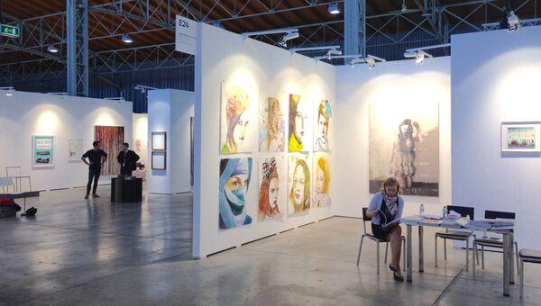 Выставка современного искусства viennacontemporary в Вене