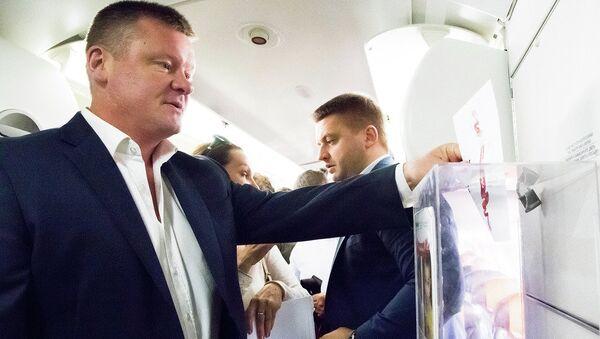 Депутат государственной Думы РФ Михаил Исаев. Архивное фото