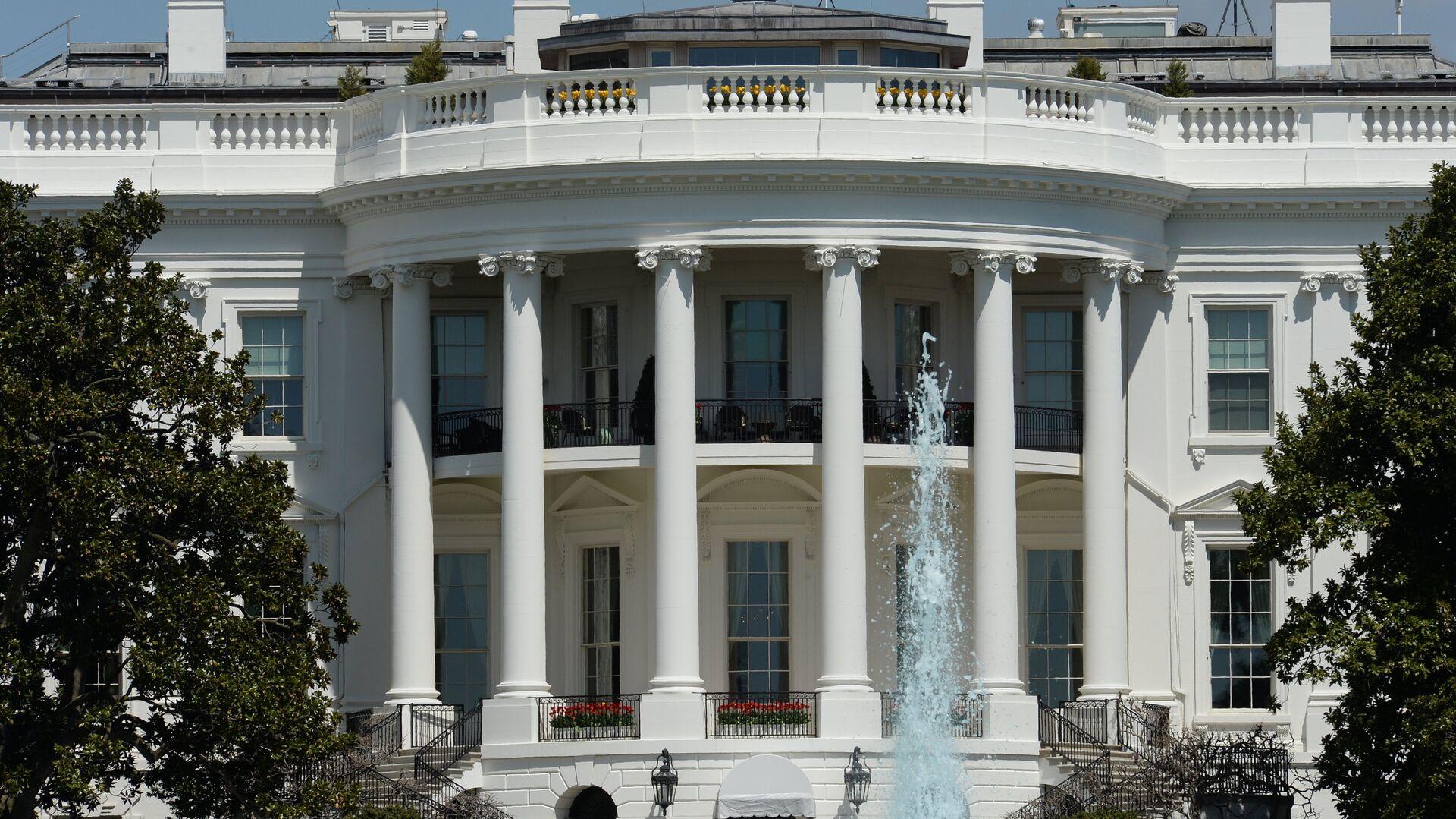 Официальная резиденция президента США - Белый дом - РИА Новости, 1920, 30.04.2021