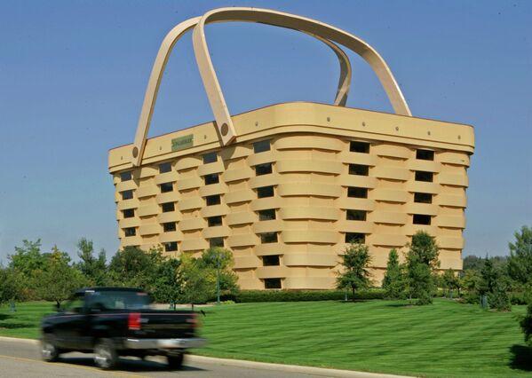 Здание-корзина в американском Огайо