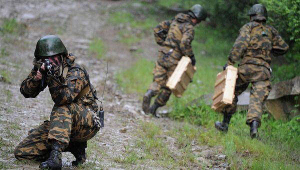 34-я отдельная горная мотострелковая бригада ЮВО. Архивное фото