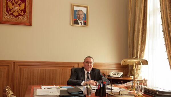 Посол России в Австрийской Республике Дмитрий Любинский