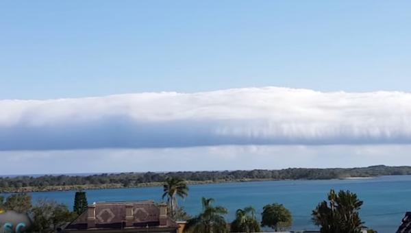 Приближение линии облаков