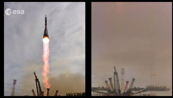 Как происходит запуск ракеты