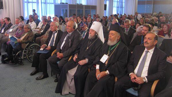 Участники 13-го Родосского форума Диалог цивилизаций
