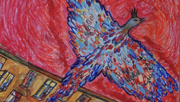 Картина Ренаты Литвиновой на выставке Живописцы, нарисуйте наши судьбы